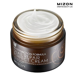 MIZON ミズオン スネール・リペア・パーフェクト・クリーム 50ml (Snail Repair Perfect Cream Whitening Anti-wrinkle Moisturizing...