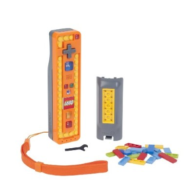 Wii LEGO Play and Build Remote - Orange/Gray (輸入版)