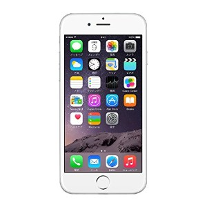 Apple au iPhone6 A1586 (MG4H2J/A) 64GB シルバー