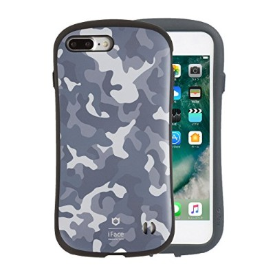 iFace First Class Military iPhone 8Plus/7Plus ケース 耐衝撃/グレー