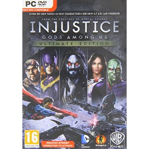 Injustice: Gods Among Us Ultimate Edition (PC DVD) (輸入版)