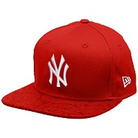 New Era New York Yankees Poly Core Red Snapback Cap 9fifty S M Basecap MLB