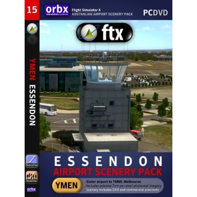 Orbx ftx Essendon YMEN(輸入版)