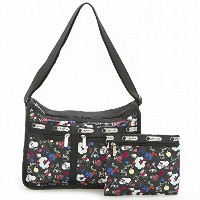 LeSportsac レスポートサック ショルダーバッグ 7507 Deluxe Everyday Bag D839 School'S Out [並行輸入商品]