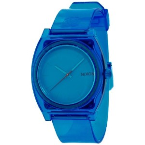 [ニクソン]NIXON TIME TELLER P: TRANSLUCENT BLUE NA1191781-00  【正規輸入品】