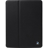 CG Mobile BMW Genuine Leather Folio Case for iPad Black