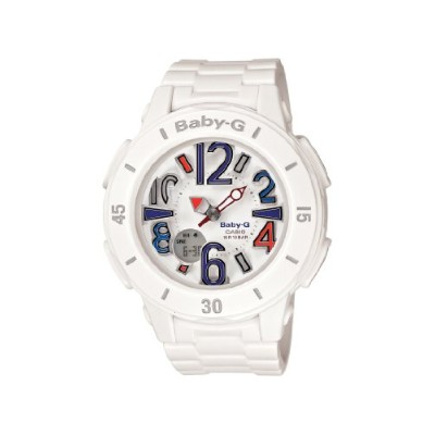 時計 カシオ Casio レディース BGA170-7B2 Baby-G Shock Resistant White Resin Analog Watch [並行輸入品]