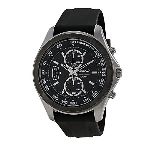 (セイコー) SEIKO Chronograph Black Dial Men Watch SNN257P2 [並行輸入品] LUXTRIT