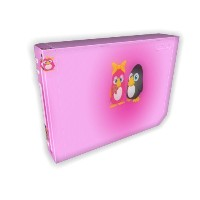 Wii Pink Penguins Battleskin (輸入版)
