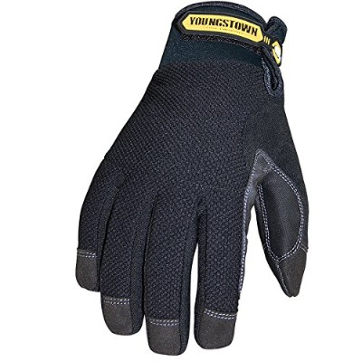 【並行輸入品】Youngstown Glove 03-3450-80-L Waterproof Winter Plus Performance Glove Large Black