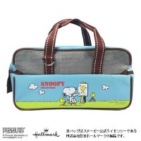 SNOOPY画材セット スヌーピー柄 ライトブルー(SNP17ST-LB)絵の具セット・スケッチセット・水彩セット