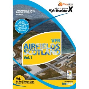 VFR Airfields Scotland vol 1 (PC) (輸入版)