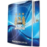 Manchester City F.C. PS3 Console Skin
