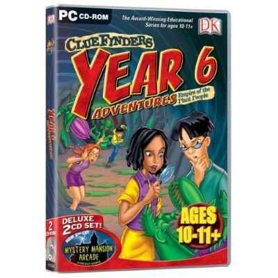 Cluefinders Year 6 Adventures (Ages 10-11) (輸入版)