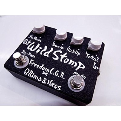 Freedom Custom Guitar Research × AKIMA & NEOS Wild Stomp AN-EF-01 BLACK ベース用エフェクター