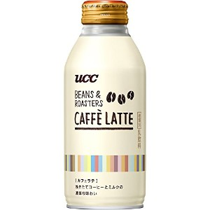 UCC BEANS&ROASTERS カフェラテ  リキャップ缶 375g×24本