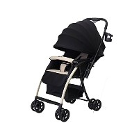 Malus Baby Stroller One Touch Folding ワンタッチ折りたたみ ベビーカー (海外直送品) (Beige)
