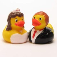 Rubber Duck Bride and Groom 1 - ???????