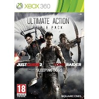Ultimate Action Triple Pack - Just Cause 2/Sleeping Dogs/Tomb Raider (Xbox 360) by Square Enix ...