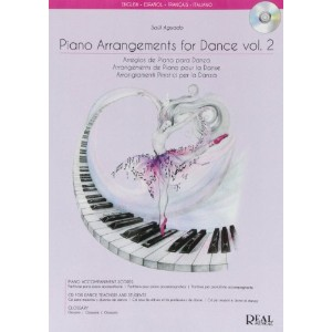 Piano Arrangements for Dance Vol.2, Arreglo de Piano para Danza / ダンスのためのピアノアレンジ ボリューム2楽譜、CD