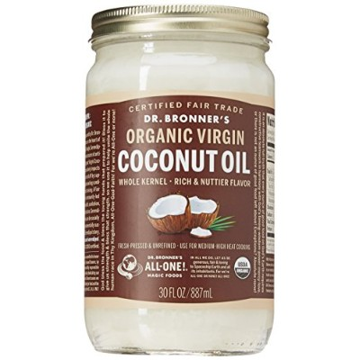 Dr. Bronner Coconut Oil Whole Kernel 30oz