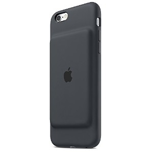 Apple アップル 純正 iPhone 6s Smart Battery Case MGQL2AM/A Charcoal Grey チャコールグレイ