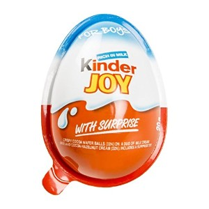 20 pcs (For Girl & Boy) KINDER JOY plastic eggs chocolate & Secret toys