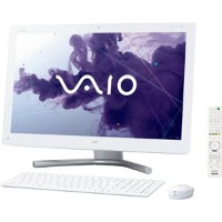ソニー(VAIO) VAIO Lシリーズ (W8 64/Ci5/24FHD/4G/BDXL/2T/WLAN/BT/Office/TV) ホワイト SVL24136CJWI