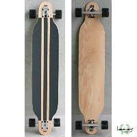 HEAVEN SKATE BOARDヘブンロングスケートボードDROP SURF 41.5inch