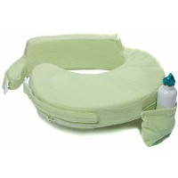 My Brest Friend Deluxe Nursing Pillow, Light Green by My Brest Friend [並行輸入品]