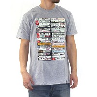 (フェイマス) FAMOUS Tシャツ メンズ PUNK TAPES TEE - FM01170049 HEATHER-GREY M