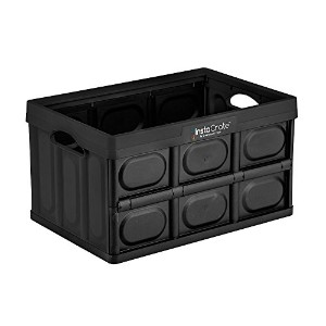 GreenMade InstaCrate Collapsible Storage Container, 12 gal, Black by GreenMade