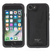 ROOT CO. H2O Water & Shock Proof Hard Shell IP68 iPhone 7 ケース 防水 防塵 耐衝撃 MIL規格 / Black