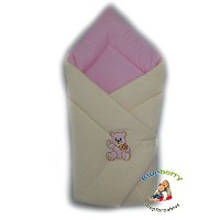 BlueberryShop Cosy Fleece for CAR SEAT Swaddle Wrap Blanket Sleeping Bag for Newborn, baby shower...