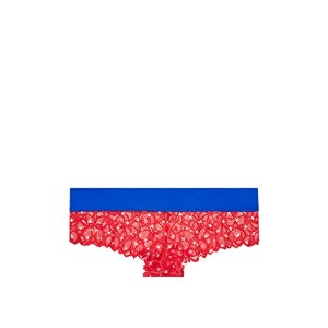 VICTORIA'S SECRET ヴィクトリアシークレット/ビクトリアシークレット PINK デート レースチーキスター パンティー ( GJ1-Red White And Blue Stars ...