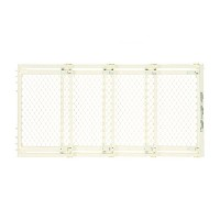 North States Supergate Extra-Wide Gate, Ivory by North States Industries