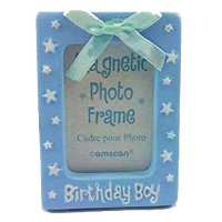 Birthday Magnetic Photo Frame by Amscam