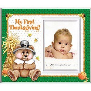 My First Thanksgiving - Picture Frame Gift by Expressly Yours! Photo Expressions