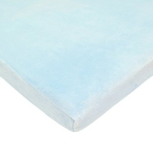 American Baby Company Heavenly Soft Chenille Fitted Pack N Play Playard Sheet, Blue, 27 x 39 by...