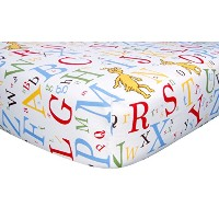 Trend Lab 30031 Dr. Seuss Abc Drap-Dr. Seuss ABC percale