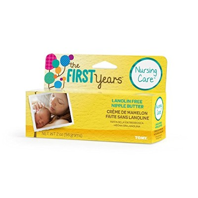 The First Years Lanolin Free Nipple Butter, 2 Ounce by The First Years