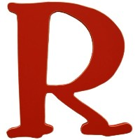 New Arrivals The Letter R, Rusty Red [並行輸入品]