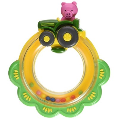 The First Years John Deere Tractor Ring Rattle by The First Years