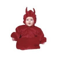 My Little Devil Baby Bunting Costume by RG Costumes