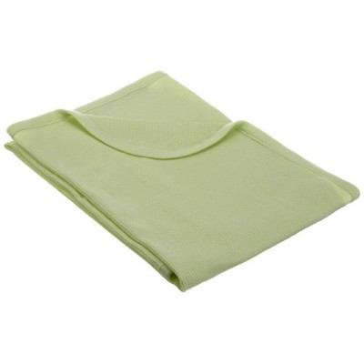 American Baby Company Full Size 30 X 40 - 100% Cotton Swaddle/Thermal Blanket, Celery by American...