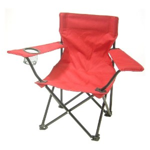 Redmon For Kids, Kids Folding Camp Chair, Red by Redmon [並行輸入品]