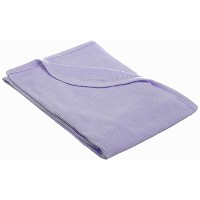 American Baby Company Full Size 30 X 40 - 100% Cotton Swaddle/Thermal Blanket, Lavender by American...
