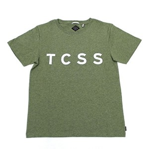 "TCSS (ティーシーエスエス) TCSS ""TRUSTY TEE"" SFT1602 Tシャツ 半袖 T-shirt (L) FATIGUE MARLE"