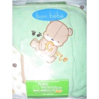 Bon Bebe Bath Blanket & Washcloth Set by Bon Bebe