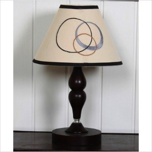GEENNY CF-2060-L Lamp Shade, Scribble by GEENNY